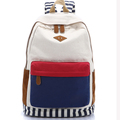 Yiwu Manufacturers Fashion Canvas Mix Color College Bags Purchase Girl Backpack