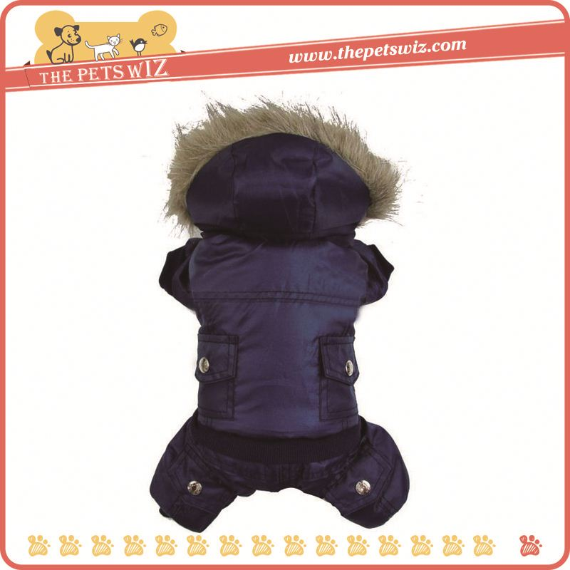 Customized warm dog coat ,p0wux cool pet coat for sale