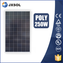 China factory price polycrystalline pv model 250w poly solar panel