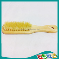 New design natural bristle body wash brush