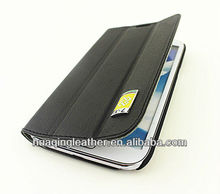 Smart case for SamSung galaxy note2 N7100 case with PU leather marterial
