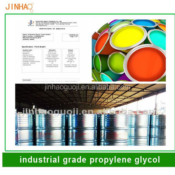 usp grade mono propylene glycol coating paiting material Unsaturated polyester resin Flavouring PG