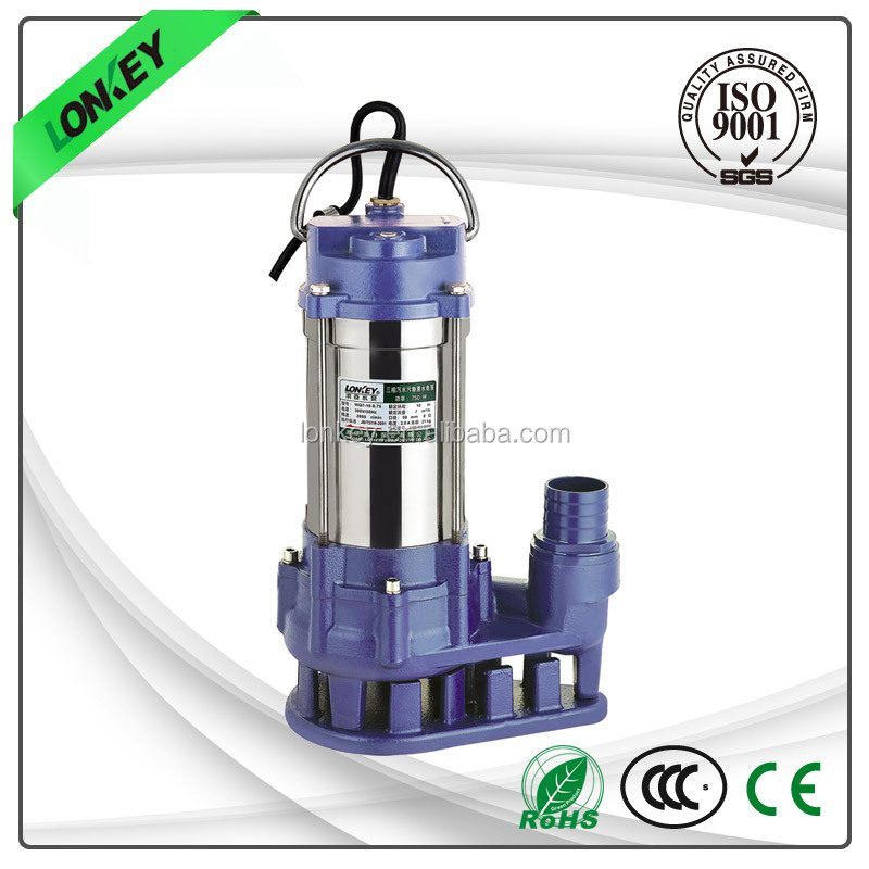 "WQD 2"" electric submersible water pump, hydraulic motor pump"