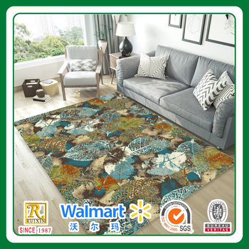 living room high quality PET vivid tufted mat