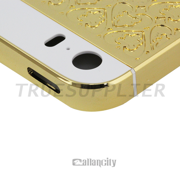 for iphone 5s housing 24k gold for iphone 5 gold body