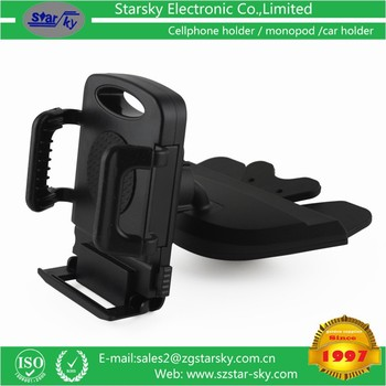 New ABS quality car phone mount, CD slot car holder # 258-087
