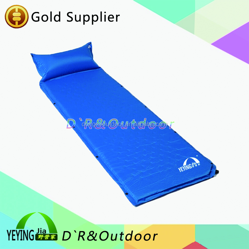 High Quality Self-inflating Mat Sleeping Mat Camping Pad W/ Pillow