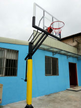 Basketball Equipment, Inground Height Adjustable Basketball stand