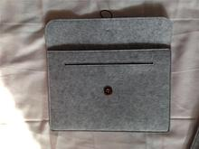 2016 hot sale handmade fancy small custom felt laptop bag