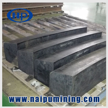 Rubber ball mill liners plate ball mill liners