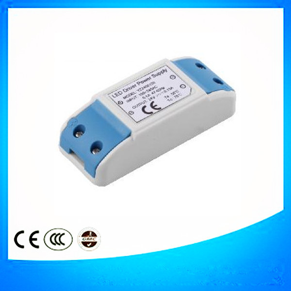 10w approved high efficiency 350ma Triac dimming power led driver for led lighting accessories