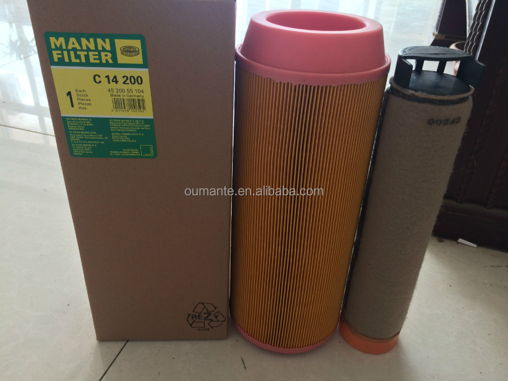 Best quality air filter c14200 for truck