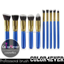 Natural hair wholesale custom logo 12piece makeup brush set for women make up