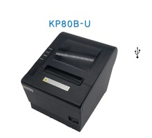 80mm thermal pos USB receipt printer supermarket ticket printer