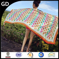 GDBX0003 Fashionable wholesale women shawl scarf/Colorful ladies multipurpose scarf