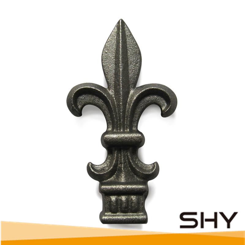 Ornamental products cast iron fence ornaments sand casting
