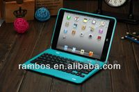 Tablet Plastic Wireless Bluetooth Keyboard with Cover Case for iPad Mini