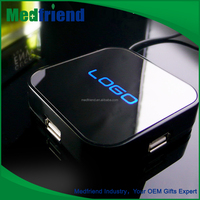 Novelties Wholesale China MF1516 Usb Hub 2.0 with Lit-up Logo