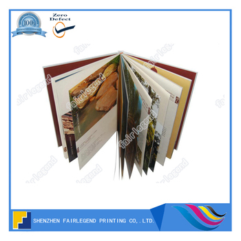 China Full Color Book Printer Hardbound Book Printing, View ...