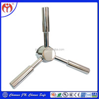Hoe selling Products China Supplier three spoke handle for safe/vault/gunsfafe