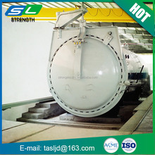 Hot sale horizontal pressure vessel industrial autoclave carbon steel autoclave steaming kettle for wood from China supplier