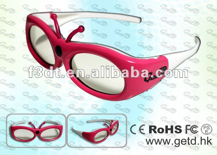 IR 3d eyewear for 4D cinema