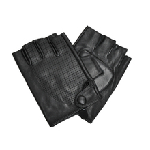 Mens half finger summer driving gloves with factory price