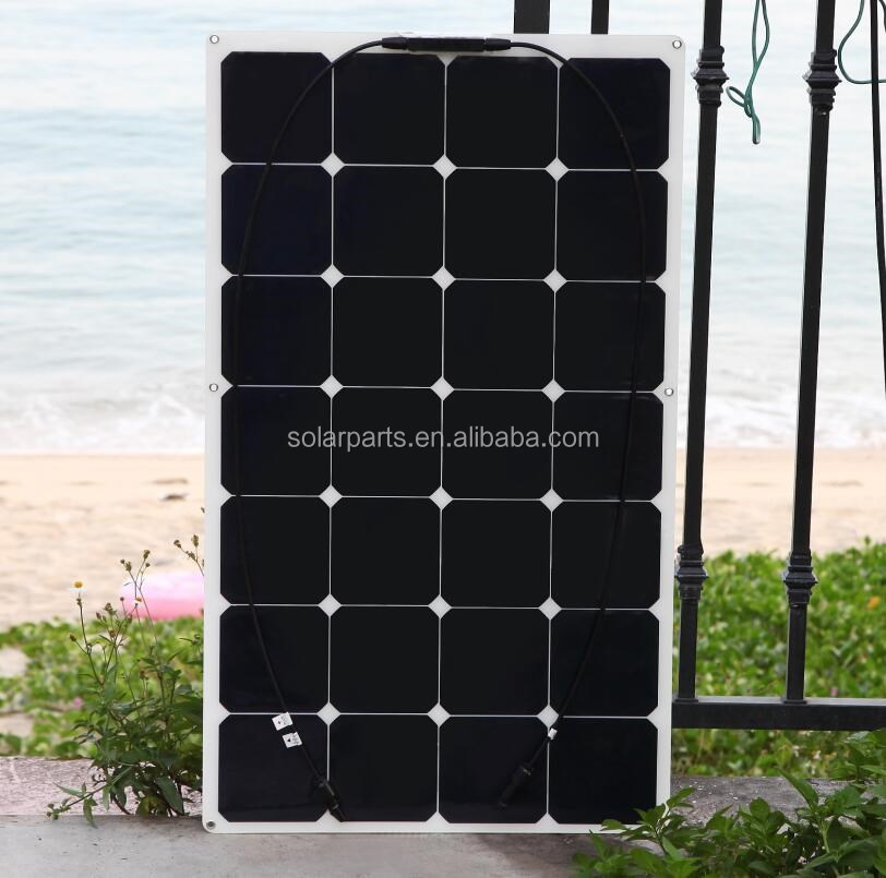 Hot Selling Energy Products 85W Semi Flexible and portable solar panels for Sale