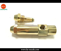 Brass material Siphon Air Atomizing Fuel Oil Burner Nozzle