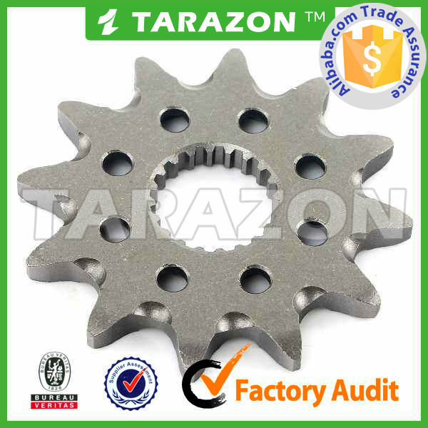 high precision customized front dirt bike chain sprocket