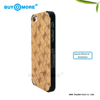 animal shaped cases plus hard natural bamboo case for iphone 5s