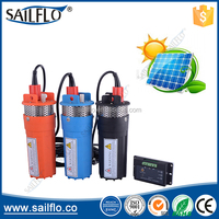 Sailflo 9300 24 volt solar powered high pressure boost submersible water fountain pump