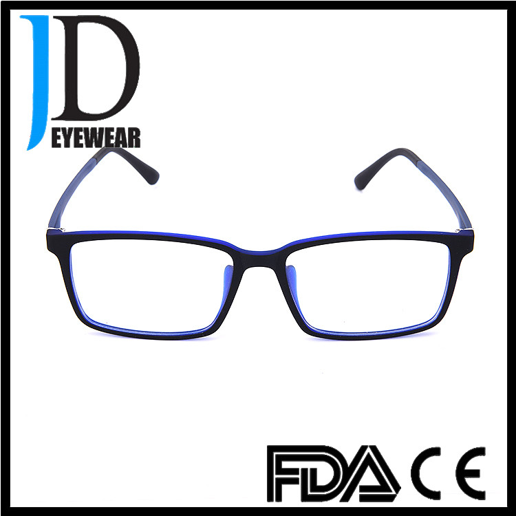 2017 popular eyeglasses model acetate tr90 material with variety color optical frame