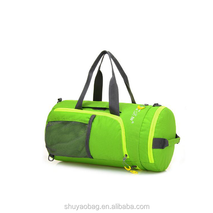 Wholesale folded sports travel bag customized design from china supplier.