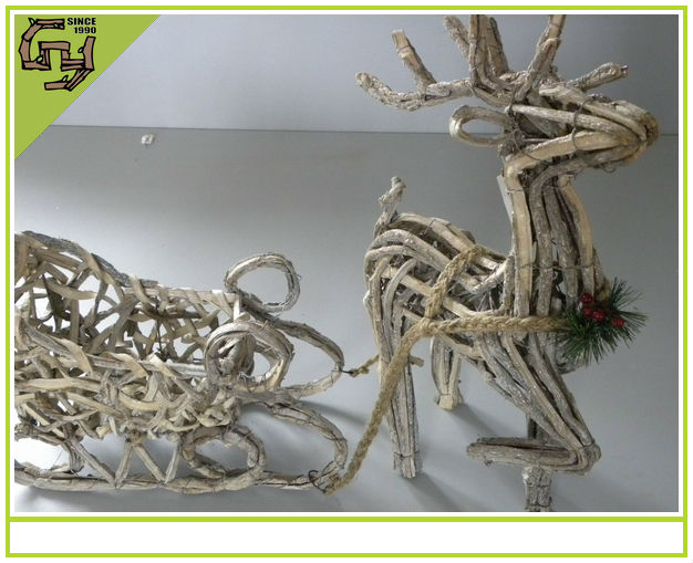 2014 new design outdoor christmas product Tree branch