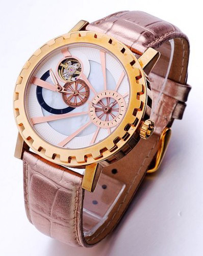 Assisi Luxury Mechanical Skeleton Automatic Mechanical Leather Band Men's Wrist watch