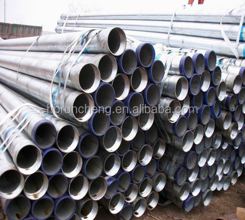 ERW galvanized steel pipe bs1387-1985 din2440 a53 a106 api 5l