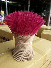 White incense sticks 25 cm long for Thailand, Malaysia and Indonesia market