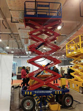 hydraulic lift platform/mobile lifting equipment/scissors forks lifter