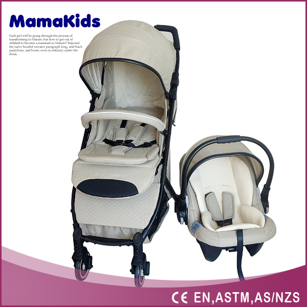 Luxury Design Baby Buggy with Carseat EN1888 Travel System Baby Stroller