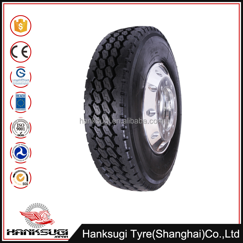 Various styles used 11r20 tire for truck