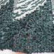 dark green embroidery designs korea lace fabric for bride dress HY0696-8