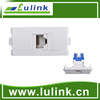 Network Cat6 connector module faceplate, wall socket from China