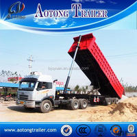 Payload 60 tons 3 axle tipper semi trailer sale