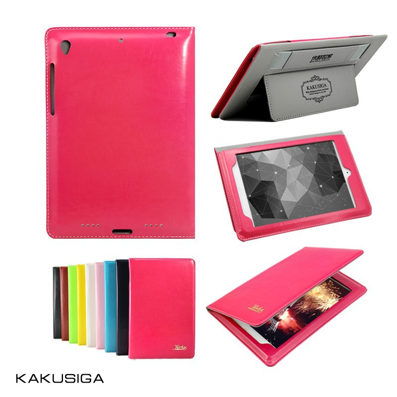 leather case for iPad customized tablet pc cases with shoulders strap
