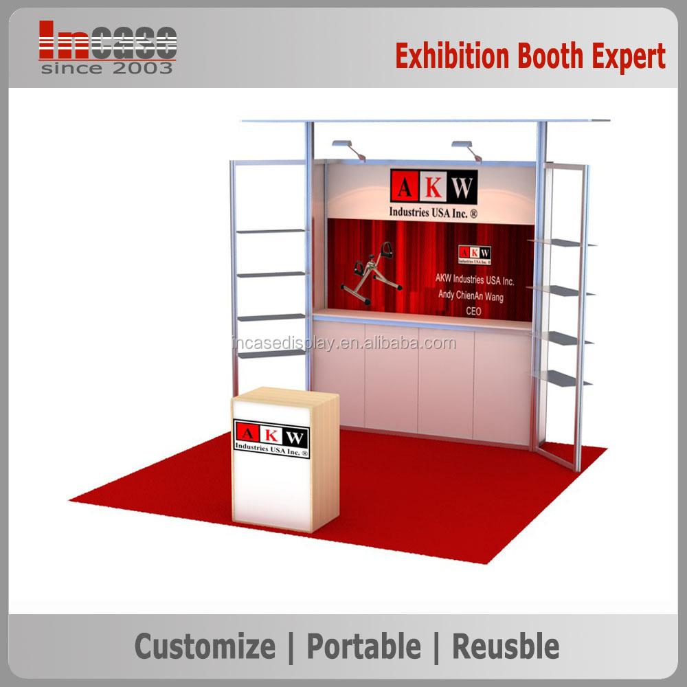 Portable Exhibition Booths : Incase ft portable trade show booth exhibit display