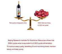 healthy fruit red Jujube Wine