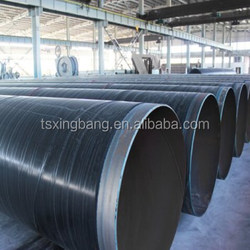 API 5L gr b sch40 carbon steel oil and gas pipe coated by plastic pe