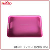 Rectangle pink vegetable plastic food tray/egg/seedling/cable/serving tray inch disposable food tray