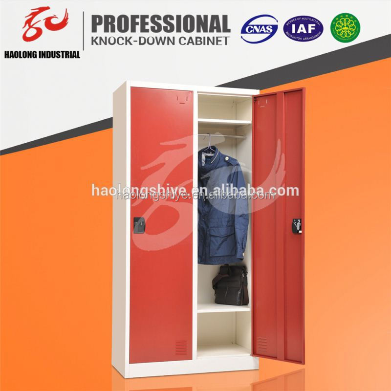 hot selling red cabinet almirah KD phone charging locker